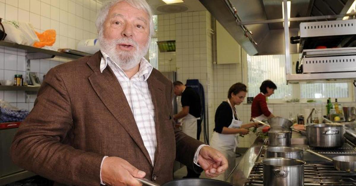 Wolfram Siebeck liebt gutes Essen und beissende Kritik