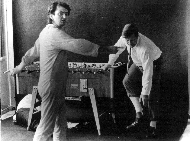 Charles Wilp und Helmut Schmidt