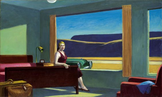 Edward Hopper Western Motel (1957)