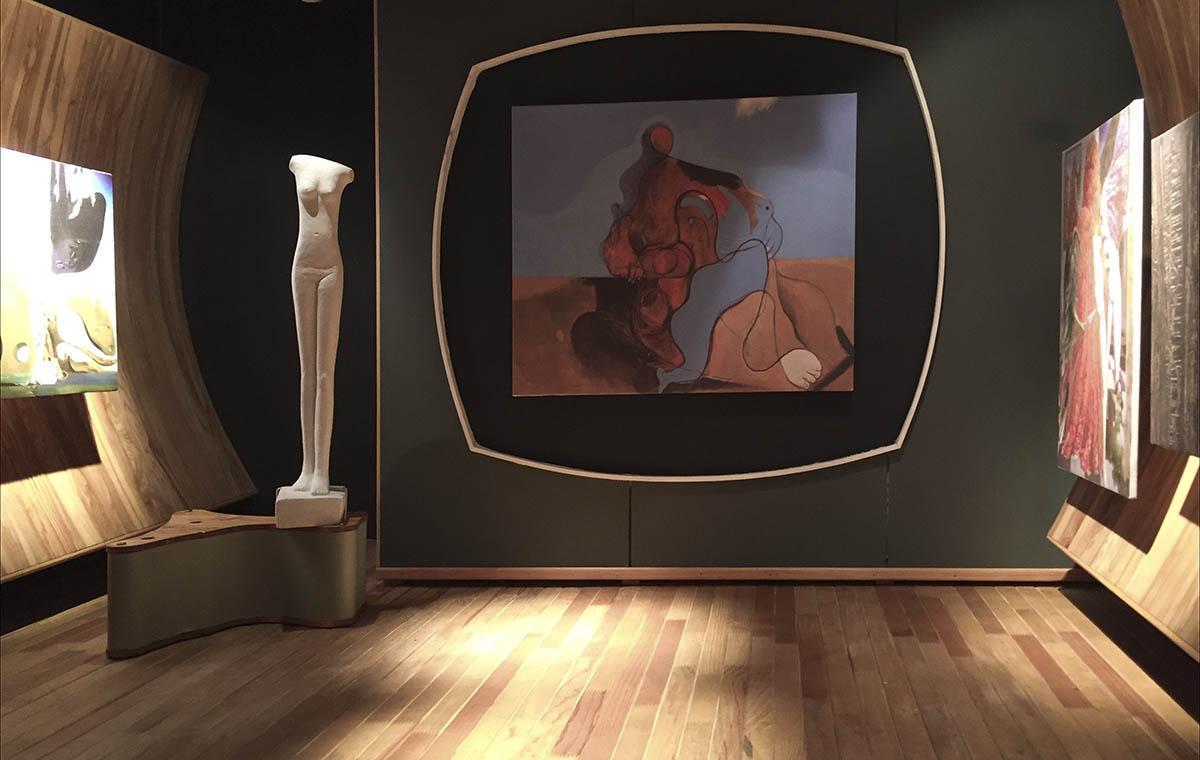 F. Kiesler, Art of This Century Galerie, New York 1942
