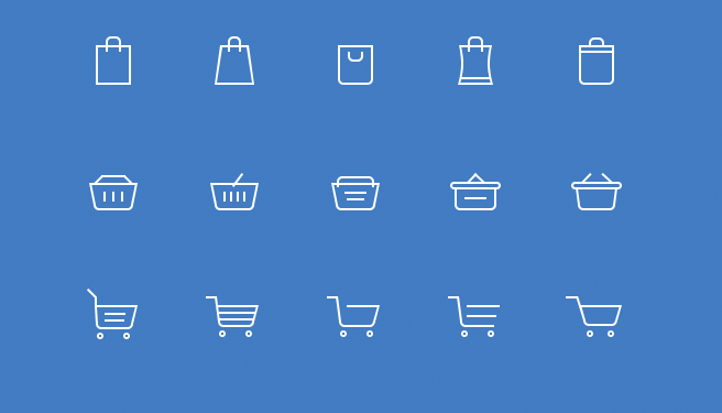 Kostenlose-Icons-Warenkorb-Icons