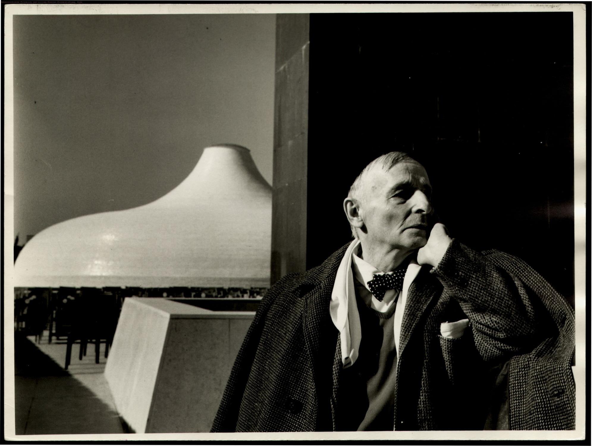 F. Kiesler und A. Bartos, The Shrine of The Book, Jerusalem 1957-65